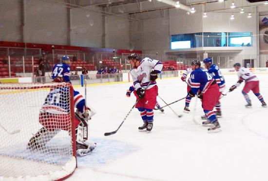 NHLPA Rookie Pick up game