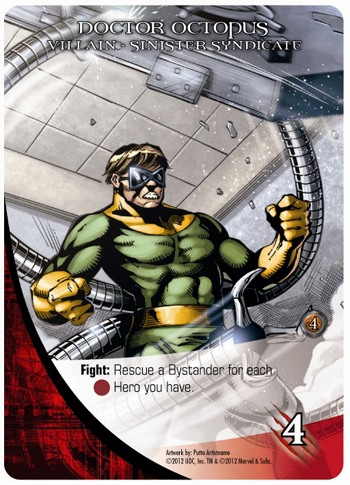 2012 Upper Deck Marvel Legendary Doctor Octopus
