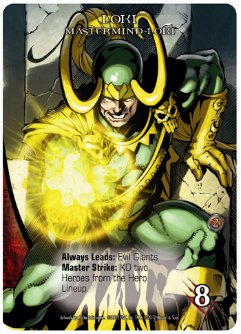 2012 Upper Deck Marvel Legendary Loki