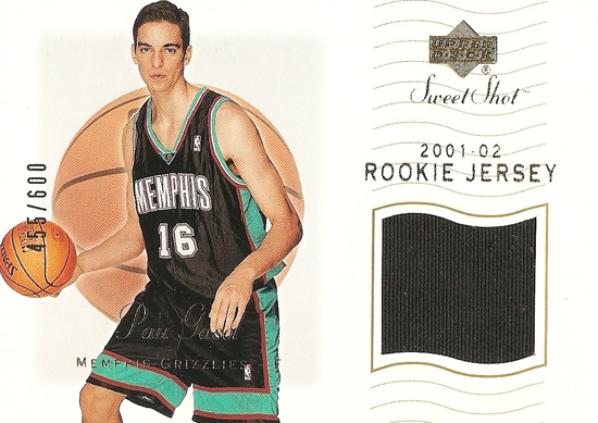 Sweet Shot Pau Gasol Rookie