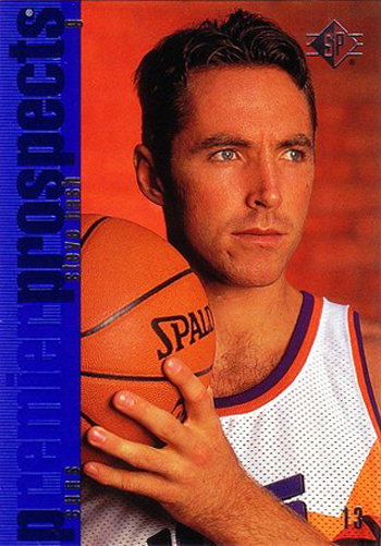 SP Authentic Steve Nash Rookie