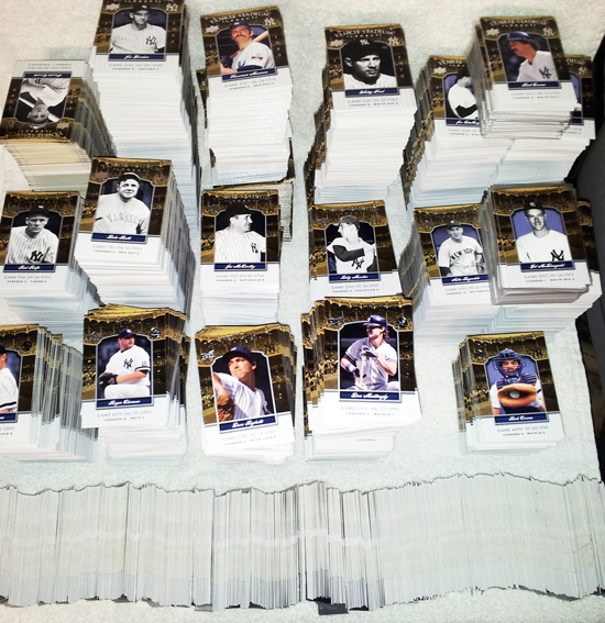Massive Yankee Stadium Legacy Set from Upper Deck Baseball