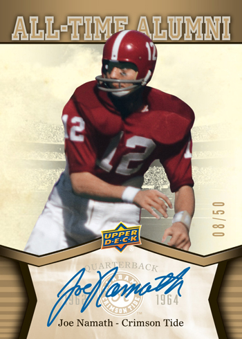 2012-Upper-Deck-Alabama-Football-Autograph-Joe-Namath-50