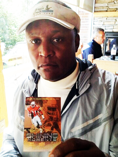 2012 Upper Deck All Time Greats Barry Sanders Signing Session