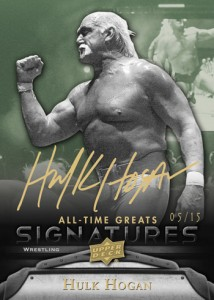 Upper Deck All-Time Greats Hulk Hogan Autograph