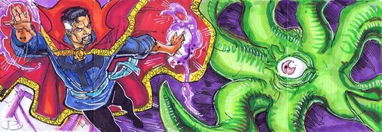 2012-Upper-Deck-Marvel-Premier-Multi-Panel-Sketch-Cards-Kevin-Sharpe-Dr-Strange-Inside