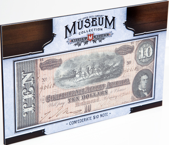 2012-Upper-Deck-Goodwin-Champions-Civil-War-Confederate-10-Note-Bill-Side