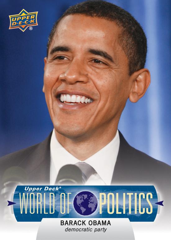 2011-Upper-Deck-World-of-Sport-Politics-Barack-Obama