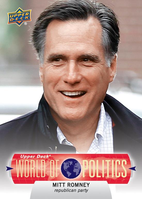 2011-Upper-Deck-World-of-Sport-Politics-Mitt-Romney