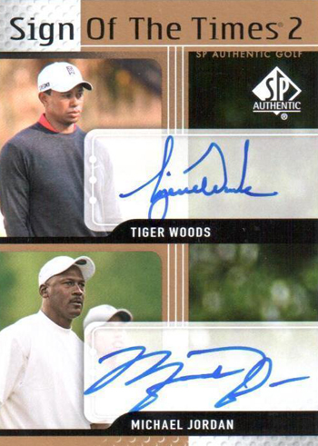 2012-Collectors-Choice-Awards-Trading-Card-Year-SP-Authentic-Golf-Sign-Times-Jodan-Tiger-Woods