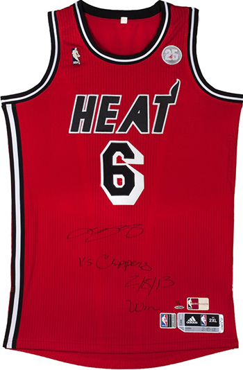 LeBron-James-Miami-Heat-Gift-Guide-Dad-Grad-Holiday-Best-Game-Used-Jersey-Autograph-Retro-Jersey