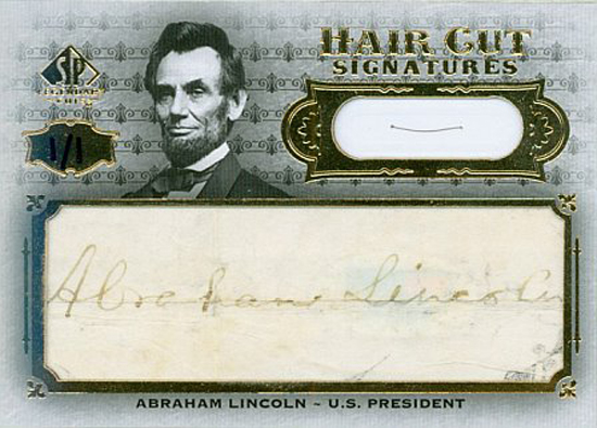 2008-SP-Legendary-Cuts-Hair-Cut-Signatures-Abraham-Lincoln