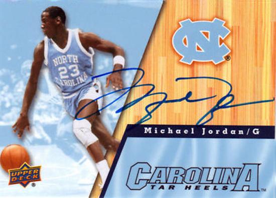 2010-11-Upper-Deck-University-of-North-Carolina-Tar-Heels-Basketball-Michael-Jordan-Autograph