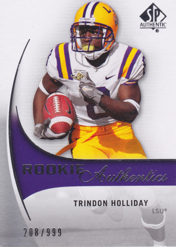 2010-SP-Authentic-Rookie-Trindon-Holliday