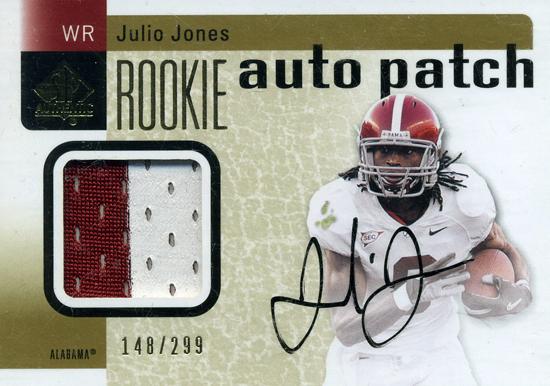 2011-SP-Authentic-Rookie-Autograph-Patch-Julio-Jones