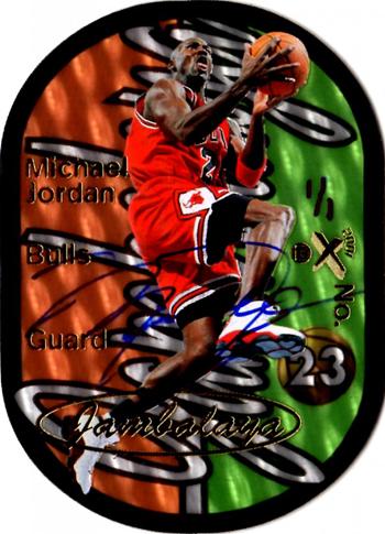 2012-Collectors-Choice-Awards-Trading-Card-Year-Fleer-Retro-Jambalaya-Autograph-Michael-Jordan