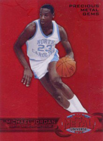 2012-Collectors-Choice-Awards-Trading-Card-Year-Fleer-Retro-Precious-Metal-Gems-Michael-Jordan