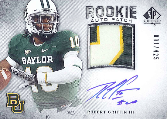 2012-SP-Authentic-Football-Rookie-Autograph-Patch-Robert-Griffin-III-RG3