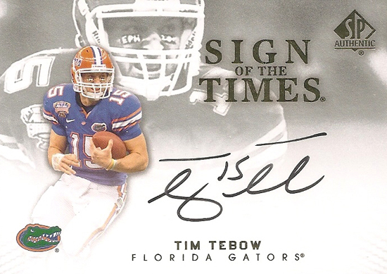 2012-SP-Authentic-Football-Short-Print-List-Sign-of-the-Times-Tim-Tebow