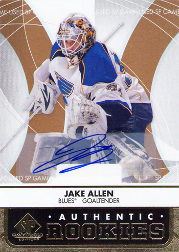 2012-13-NHL-SP-Game-Used-Jake-Allen-Autograph-Rookie