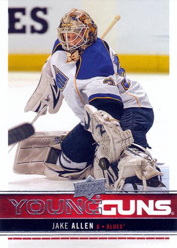 2012-13-NHL-Upper-Deck-Series-One-Rookie-Jake-Allen-Young-Guns