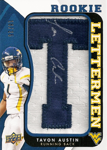 2013-Upper-Deck-Football-Autograph-Rookie-Letterman-Tavon-Austin