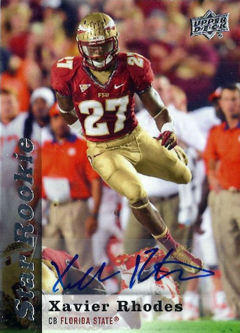 2013-Upper-Deck-Football-Autograph-Star-Rookie-Xavier-Rhodes