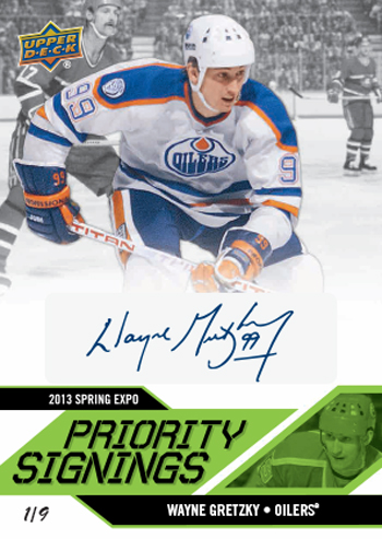 2013-Upper-Deck-Spring-NHL-Expo-Priority-Signings-Autograph-Wayne-Gretzky