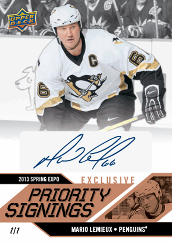 2013-Upper-Deck-Spring-NHL-Expo-Priority-Signings-Exclusive-Mario-Lemieux-Autograph