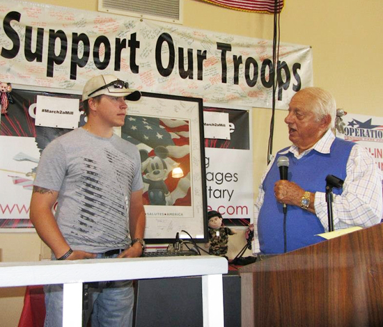 Doc-Jacobs-Event-Upper-Deck-Operation-Gratitude-Tommy-Lasorda-Talking-to-Doc