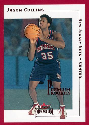 First-Gay-Athlete-Jason-Collins-2001-02-Fleer-Premium-Rookie-Star-Parallel-Card