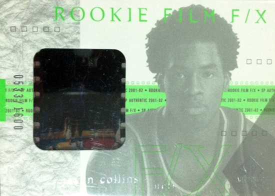 First-Gay-Athlete-Jason-Collins-2001-02-SP-Authentic-Rookie-Film-FX-Card