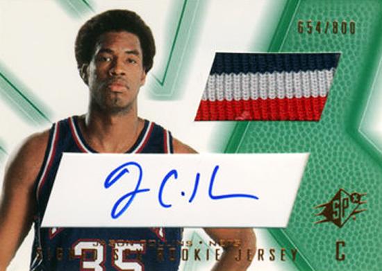 First-Gay-Athlete-Jason-Collins-2001-02-SPx-Autograph-Jersey-Card