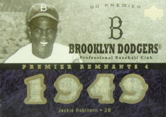 Jackie-Robinson-2007-UD-Premier-Baseball-Memorabilia-Card