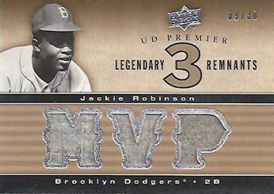 Jackie-Robinson-Collect-2008-UD-Premier-MVP-Memorabilia-Card