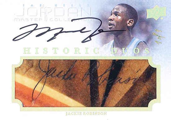 Jackie-Robinson-Collect-2013-Upper-Deck-Michael-Jordan-Master-Collection-Historical-Duos