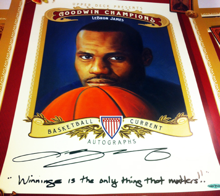 LeBron-James-Signing-3-7-13-Goodwin-Champions-Promo-Poster-Winning-is-the-only-thing-that-matters