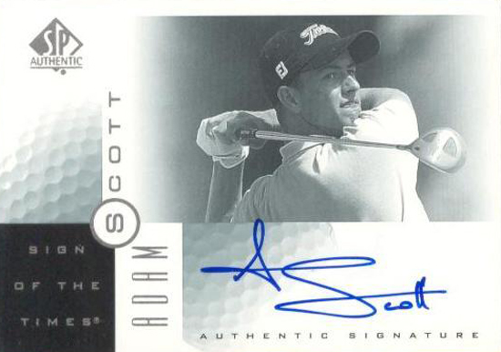 Masters-Favorites-2001-SP-Authentic-Sign-of-the-Times-Adam-Scott-Autograph-Card