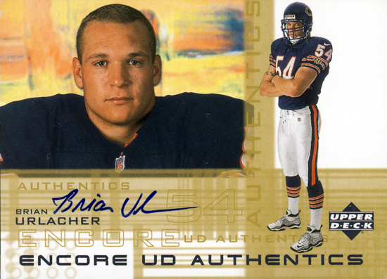 2000-Encore-Authentic-Autographed-Brian-Urlacher-Upper-Deck-signed