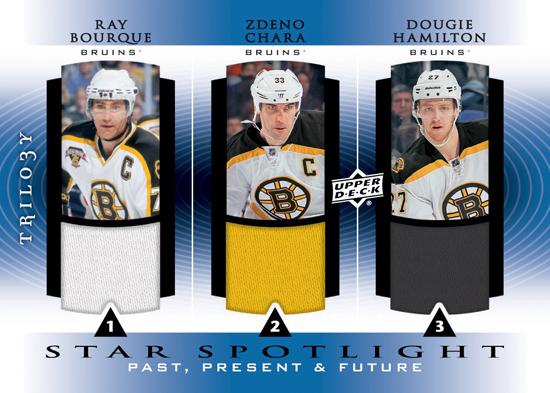 2013-14-NHL-Trilogy-Star-Spotlight-Bourque-Chara-Hamilton