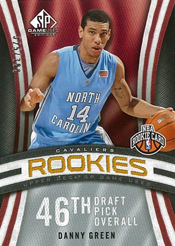 2009-10-NBA-Danny-Green-San-Antonio-Spurs-SP-Game-Used-Rookie-Card