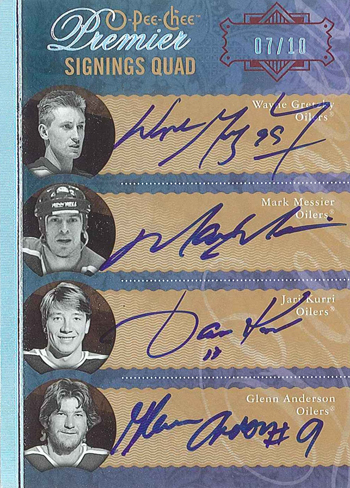 2013-National-Upper-Deck-Expired-Redemption-Raffle-Quad-Oilers-Autograph