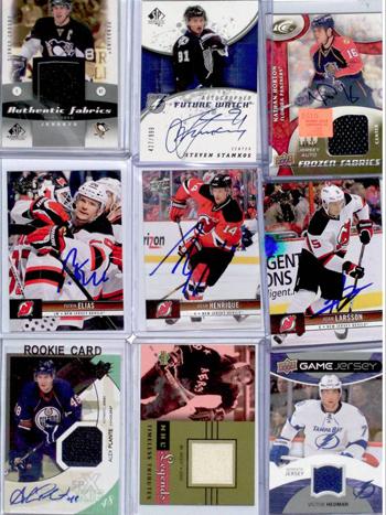 2013-Upper-Deck-NHL-Draft-Runner-New-Jersey-Varun-Sikand-Favorite-Cards