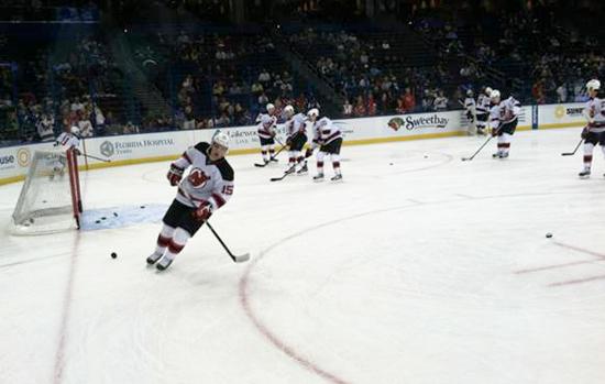 2013-Upper-Deck-NHL-Draft-Runner-New-Jersey-Varun-Sikand-Hockey-Watching