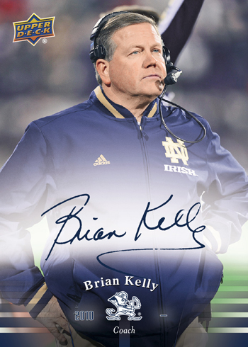 2013-Upper-Deck-Notre-Dame-Football-Brian-Kelly-Autograph