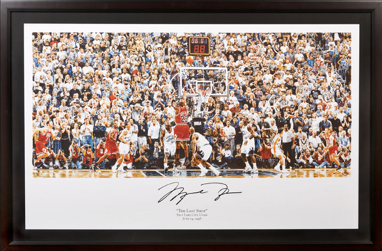 Fathers-Day-Great-Gift-for-Dad-Sports-Basketball-Michael-Jordan-Autograph-UDA