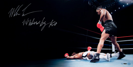 Fathers-Day-Great-Gift-for-Dad-Sports-Boxing-Mike-Tyson-Autograph-UDA