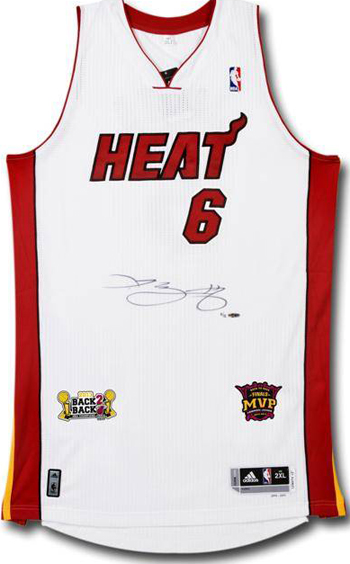Upper-Deck-Authenticated-LeBron-James-Back2Back-Champ-MVP-Jersey-Autograph