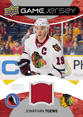 2013-Upper-Deck-Hockey-Hall-of-Fame-Game-Worn-Jersey-Set-Jonathan-Toews