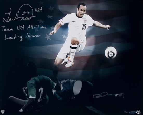 CONCACAF-Gold-Cup-Most-Valuable-Player-Soccer-Landon-Donovan-Autograph-UDA